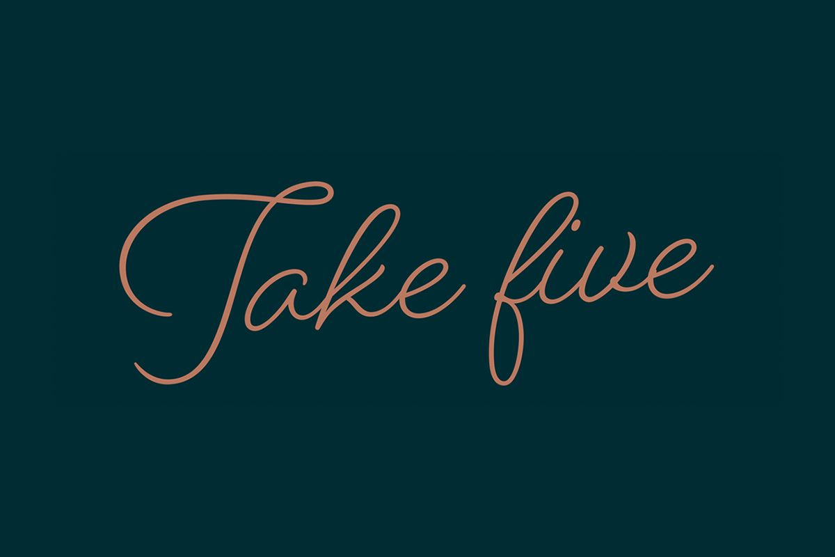 Take Five - Meeting & Event Offers Washington